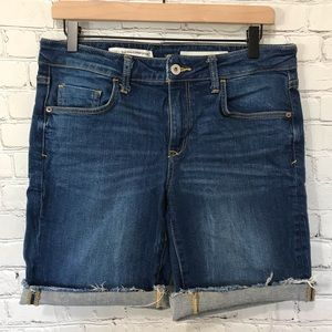 Anthropologie Pilcro Mid-Rise Slim Jean Shorts 29
